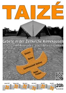 Plakatvorschau Taizé-Gebete in Refrath